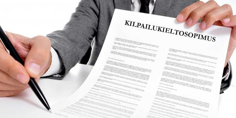 Kilpailukieltosopimus työsuhteessa