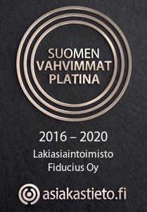 Suomen Vahvimmat -sertifikaatti.